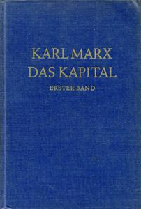 カール・マルクス「資本論」ドイツ語版